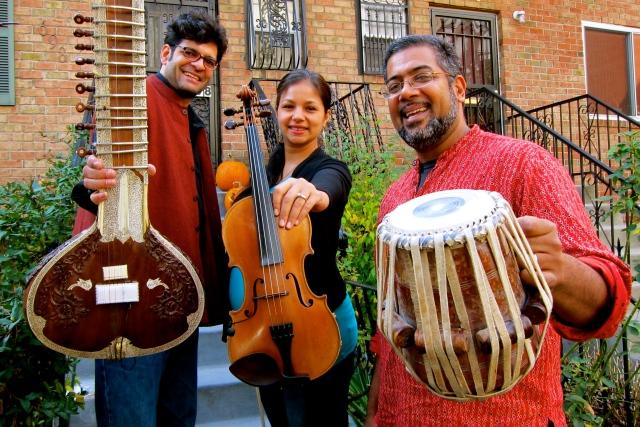 Neel Murgai - Sitar, Trina Basu - Violin, Sameer Gupta - Tabla